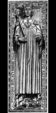 Grabplatte König Rudolf I. v. Habsburg im Speyerer Dom