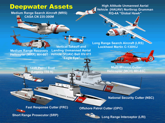 United States Coast Guard - Integrated Deepwater System - ©public domain - US Department of Homeland Security